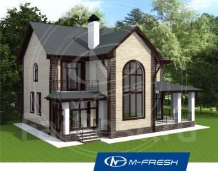 M-fresh Delicious Chicago (проект 2-этажного дома). 200-300 кв. м., 2 этажа, 4 комнаты, бетон