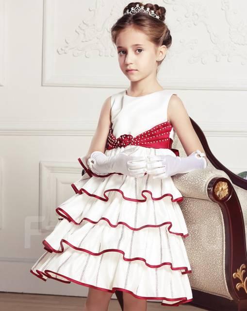 Платья для девочек рост 134