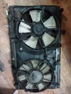 Вентиляторы радиатора кондиционера двигателя. Honda Airwave, GJ1 Двигатель L15A