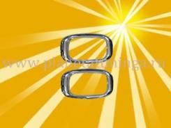Накладка на зеркало. Toyota Land Cruiser Prado, KDJ90, RZJ90, VZJ90, KZJ90, LJ90
