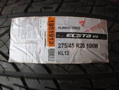 Kumho Ecsta STX KL12. Летние, 2011 год, без износа, 4 шт