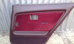 Обшивка двери. Toyota Corolla, AE91