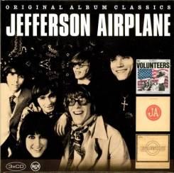 "3CD-box Jefferson Airplane ""Volunteers 69/Bark 71/Long John Silver 72"""