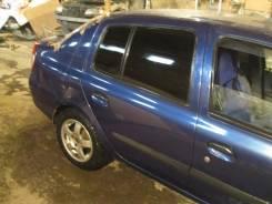 Щит опорный задний правый Renault Symbol