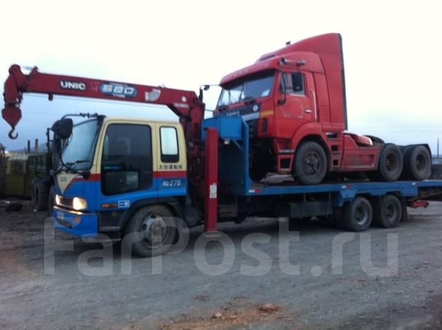 Услуги крана и эвакуатора 5т-25т, перевозка гаражей и негабарита