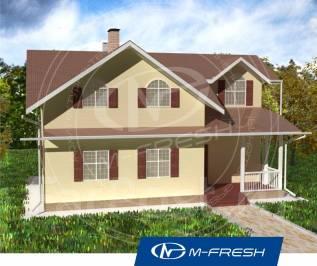 M-fresh Florida (Свежий проект дома c 7 комнатами! ). 100-200 кв. м., 2 этажа, 7 комнат, дерево