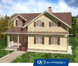 M-fresh Florida-зеркальный (Дом уютный для счастливой семьи! ). 100-200 кв. м., 2 этажа, 7 комнат, дерево