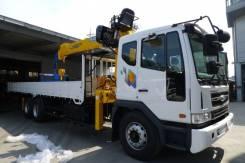 Daewoo Novus. КМУ Soosan SCS 736L2 Top, 8 000 куб. см., 7 000 кг.