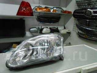 Фара. Toyota Corolla Runx, NZE121, NZE124, ZZE122, ZZE123, ZZE124 Двигатели: 1NZFE, 1ZZFE, 2ZZGE