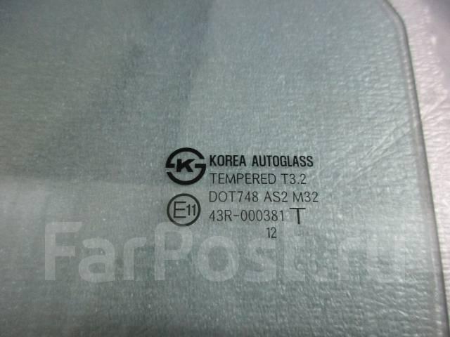 Стекло боковое. Hyundai Solaris