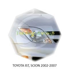 Накладка на фару. Toyota ist, NCP60, NCP61, NCP65 Двигатели: 1NZFE, 2NZFE