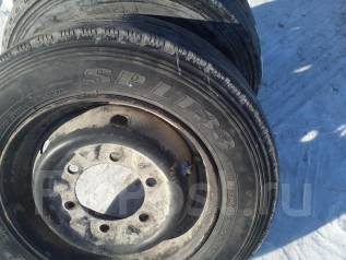 Комплект колес Dunlop SPLT33 на штампованных дисках 215/60R15.5. x15 6x170.00 ЦО 133,0мм.