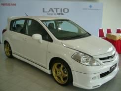 Обвес кузова аэродинамический. Nissan Tiida, C11X, SC11, JC11, C11, SC11X, NC11 Nissan Latio Nissan Tiida Latio, SNC11, SJC11, SZC11, SC11