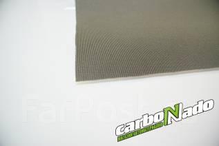 Потолочная ткань на поролоне серая(полоска)