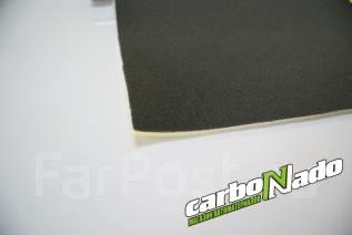 Потолочная ткань на поролоне черная