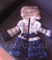 Пальто. Рост: 98-104, 104-110 см