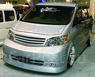 Шторки. Toyota Alphard