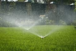 Система автоматического полива (дождевание, капельный полив)