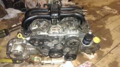 Двигатель в сборе. Subaru Forester Subaru XV Двигатель FB16