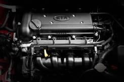 Двигатель. Kia Rio Kia Cee'd Kia Cerato Hyundai: Solaris, Accent, Elantra, i20, i30 Двигатель G4FC