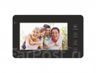 Цветной домофон видеопанель видеодомофон 7 дюймов черный But 4