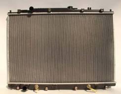Радиатор охлаждения двигателя. Acura MDX Honda MR-V Двигатель J35A6