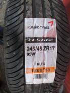 Kumho Ecsta SPT KU31. Летние, 2011 год, без износа, 4 шт