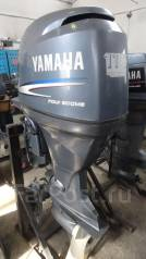 Yamaha. 115,00л.с., 4х тактный, бензин, нога X (635 мм), Год: 2003 год
