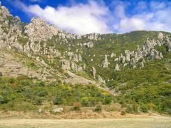 Продажа видового земельного участка в г. Алушта, с. Лучистое. 1 000 кв.м., собственность, электричество, вода, от агентства недвижимости (посредник)