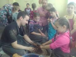 """Гончарная мастерская """"Анастасия"""", приглашает детей, взрослых и гостей"""