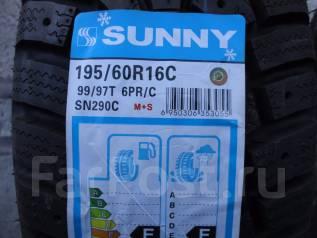 Sunny SN290C. Зимние, без шипов, 2014 год, без износа, 4 шт