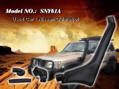 Шноркель. Nissan Safari Nissan Patrol, Y61 Двигатель TB45E