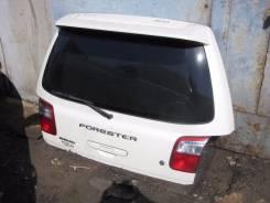 Дверь багажника. Subaru Forester, SF5, SF9 Двигатели: EJ202, EJ25, EJ205, EJ20G, EJ20J, EJ254, EJ201, EJ20