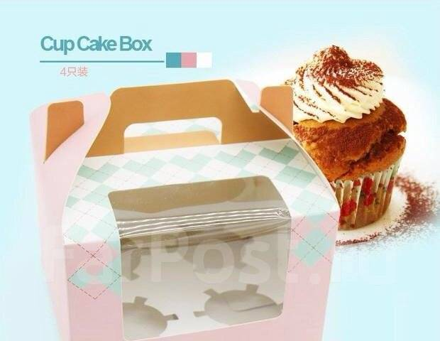 Упаковки для кексов 5