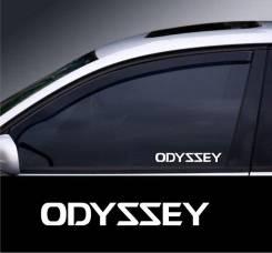 Наклейка. Honda Odyssey