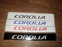 Наклейка. Toyota Corolla