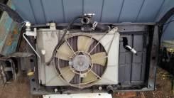 Радиатор охлаждения двигателя. Toyota Funcargo, NCP20, NCP21 Двигатели: 2NZFE, 1NZFE, 2NZ