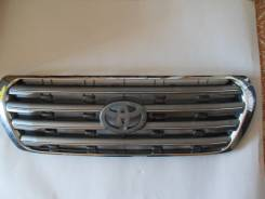 Решетка радиатора. Toyota Land Cruiser, VDJ200, URJ200, URJ202, UZJ200 Двигатели: 3URFE, 1VDFTV, 1URFE, 2UZFE