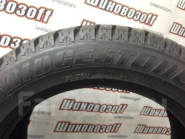 Bridgestone Ice Cruiser 7000. Зимние, шипованные, 2013 год, без износа, 4 шт