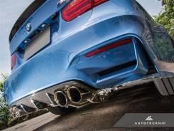 Диффузор. BMW M4, F82 BMW M3, F80