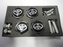 Болт крепления номера. Toyota