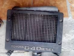 Интеркулер. Toyota RAV4 Двигатель 1CDFTV