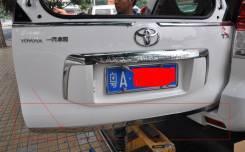 Накладка на дверь багажника хром Toyota Land Cruiser Prado 150 2010+. Toyota Land Cruiser Prado, GRJ150W, GRJ150L, TRJ120W, TRJ12, TRJ125W, KDJ150L, T...