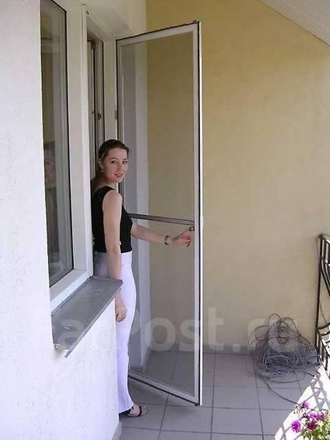 Сетки москитные дверные.
