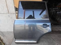 Дверь L задн.  Volkswagen Touareg 06 г. Б/У в сборе