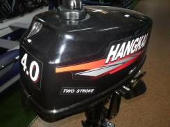 Hangkai. 4,00л.с., 2х тактный, бензин, нога S (381 мм), Год: 2016 год
