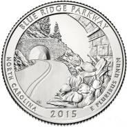 Квотер = 25 центов Парки - 2015 год , Автомагистраль Блу-Ридж