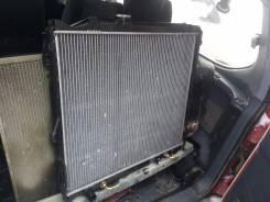 Радиатор охлаждения двигателя. Toyota Land Cruiser Prado, VZJ90W