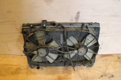 Радиатор охлаждения двигателя. Toyota Altezza, SXE10