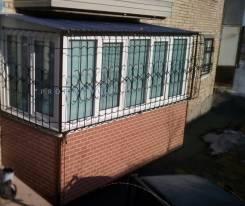 Решетки стальные на окна, балконы ! Изготовление любых мет. конструкций !